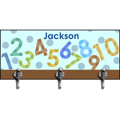 Boy's Numbers Personalized Hook