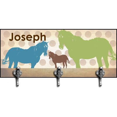 Horses Personalized Hook