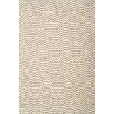 Husain International Flatweave Ivory Area Rug
