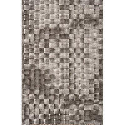 Husain International Flatweave Grey Area Rug