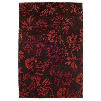 Husain International Comfort Hand-Tufted Brown Area Rug