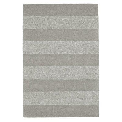 Husain International Steppes Hand-Tufted Grey Area Rug