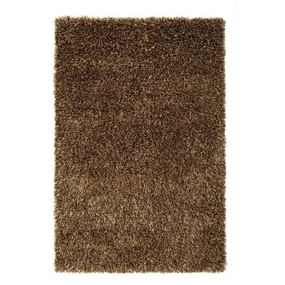 Husain International Rhythm Handmade Brown Area Rug