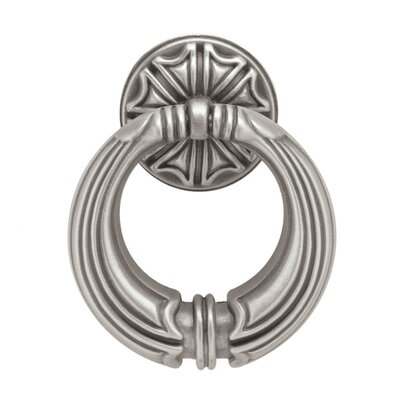 "French Romantics 2"" Center Ring Pull Finish: Brushed Satin Pewter"