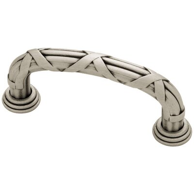 "French Romantics 3"" Center Arch Pull Finish: Brushed Satin Pewter"