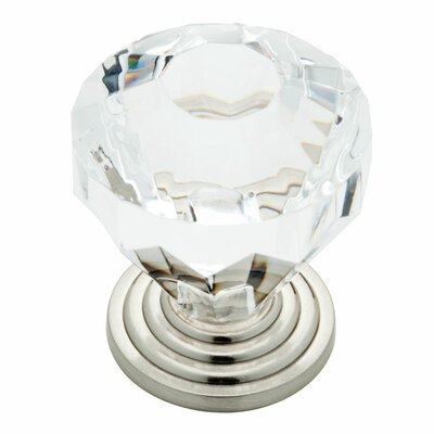 Liberty Hardware Design Facets Crystal Knob