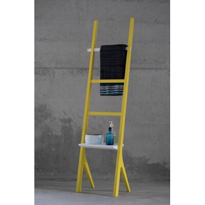 Barton Valet Stand Color: Yellow