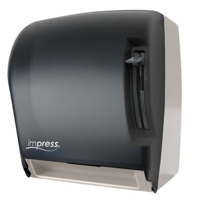 Lever Roll Towel Dispenser Color: Black/White