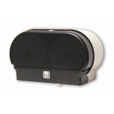 Mini-Twin Standard Tissue Dispenser Color: Dark Translucent