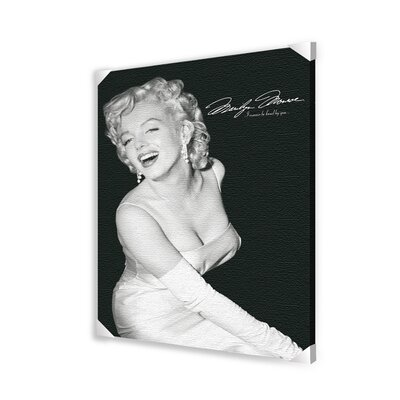 Pyramid America Marilyn Monroe Loved Photographic Print on Wrapped Canvas