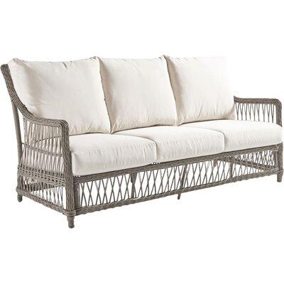 Ryann Sofa with Cushion Fabric: Canvas Khaki