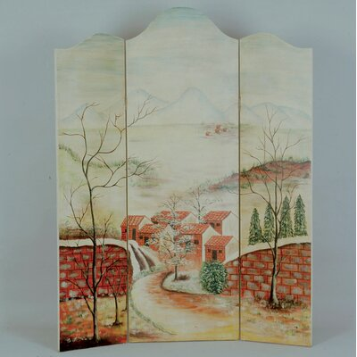 Reisman 3 Panel Room Divider
