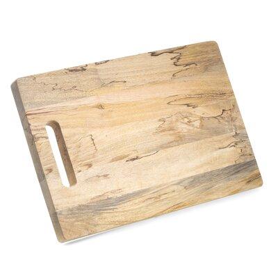 "Cheese / Charcuterie Board Size: 1.35"" H x 18"" W x 12.5"" D"