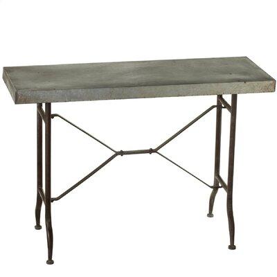 Haddon Galvanized Console Table