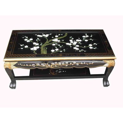 Grand International Decor Coffee Table with Magazine Rack
