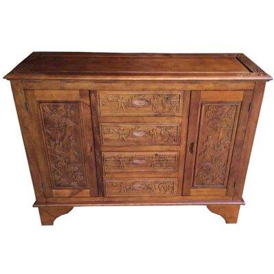 Grand International Decor 2 Door 4 Drawer Cabinet