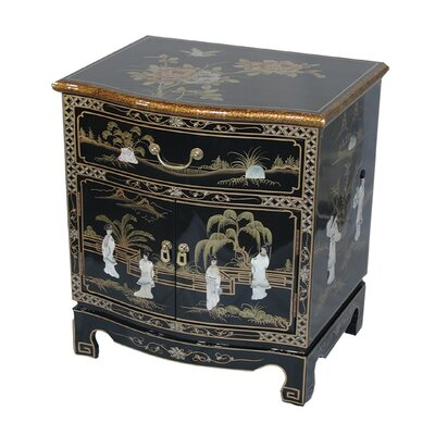 Grand International Decor Mother of Pearl Side Table