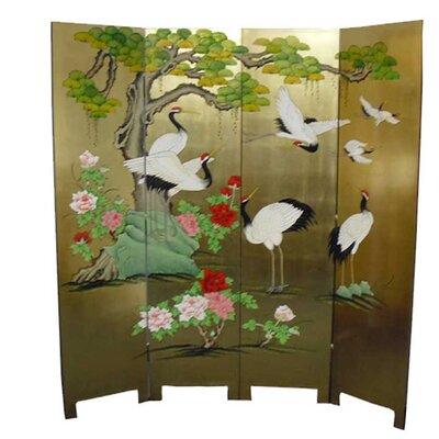 Grand International Decor 182cm x 180cm 4 Panel Room Divider