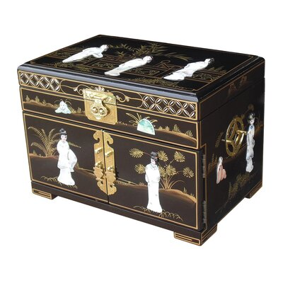 Grand International Decor Mother of Pearl Jewellery Box