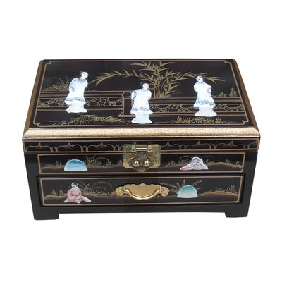 Grand International Decor Mother of Pearl Jewellery Box I