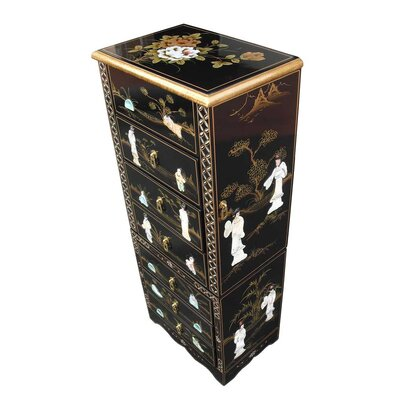 Grand International Decor Mother of Pearl Jewellery Armoire
