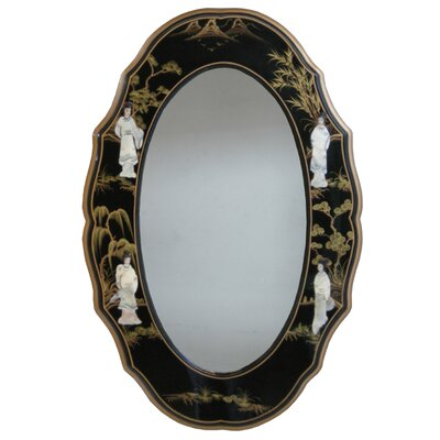 Grand International Decor Mother of Pearl Oval Mirror
