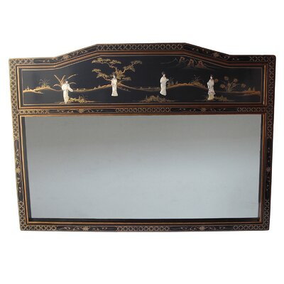 Grand International Decor Mother of Pearl Rectangle Mirror