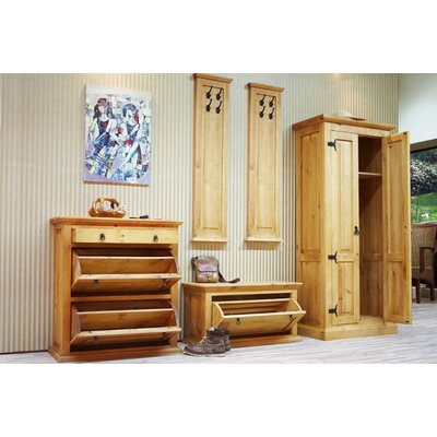Möbelkultura Garderoben-Set Hacienda