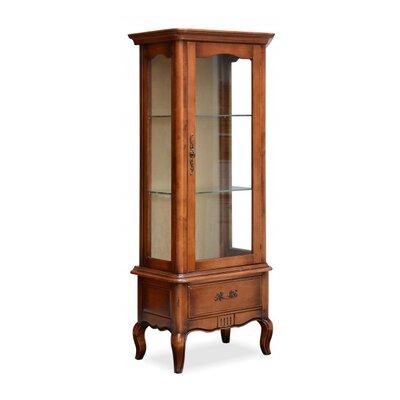 Möbelkultura Standvitrine Vintage aus Massivholz