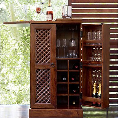 Möbelkultura Weinschrank Cube