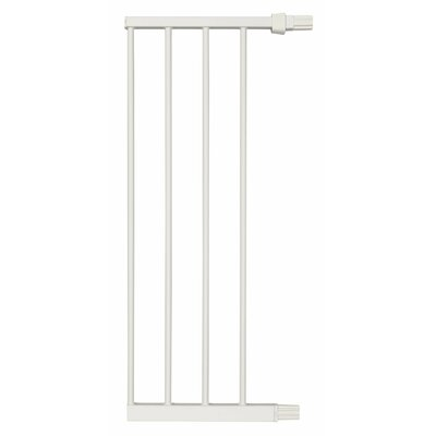 "Steel Pet Gate Extension Finish: White, Size: 29"" H x 6"" W x 1"" D"