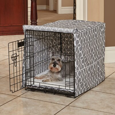 "Labrador Quiet Time Crate Cover Size: 30"" H x 28"" W x 42"" D"