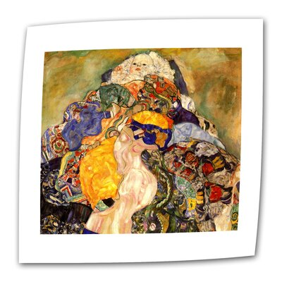 "ArtWall ""Baby Detail"" by Gustav Klimt Painting Print on Canvas"
