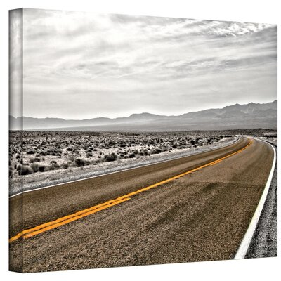 ArtWall ''Slow Curves'' by Mark Ross Photographic Print on Canvas