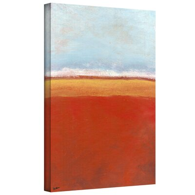 ArtWall 'Big Sky Country IV' by Jan Weiss Painting Print on Wrapped Canvas