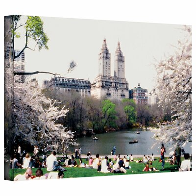 "ArtWall ""The Dakota and Central Park"" by Linda Parker Photographic Print on Canvas"