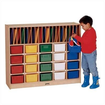 Jonti-Craft Classroom Organizer 40 Compartment Cubby