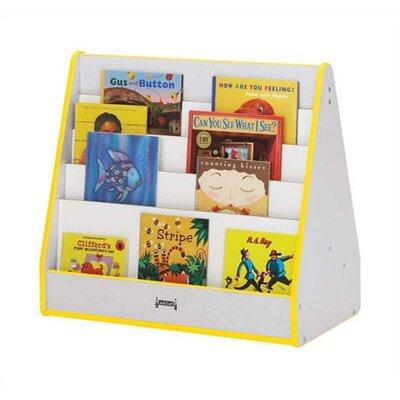 Jonti-Craft Rainbow Accents Triangular Book Display Stand
