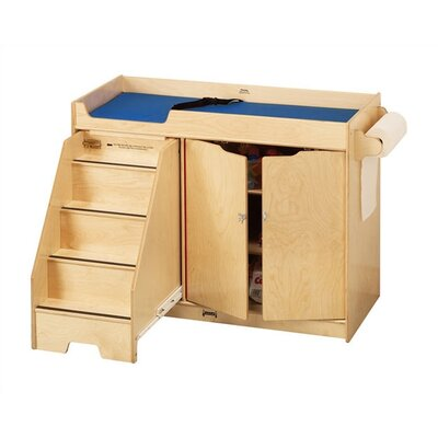 Jonti-Craft KYDZ Changing Table with Stairs