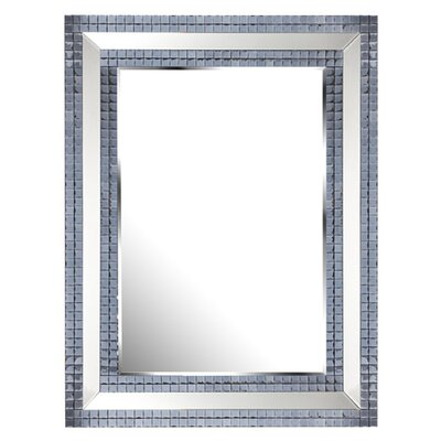 D & J Simons and Sons The Solitaire Tile Mirror