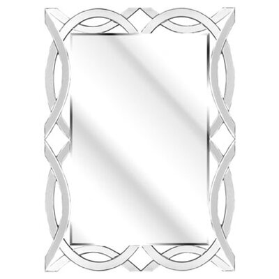 D & J Simons and Sons The Solitaire Ribbon Mirror