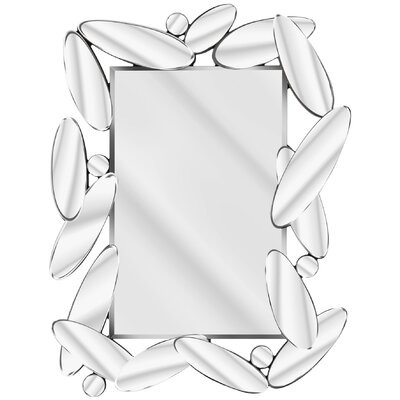 D & J Simons and Sons Solitaire Abstract Mirror with Oval Pieces