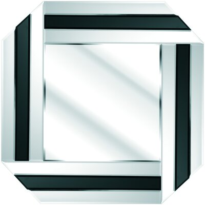 D & J Simons and Sons Art Deco Square Mirror