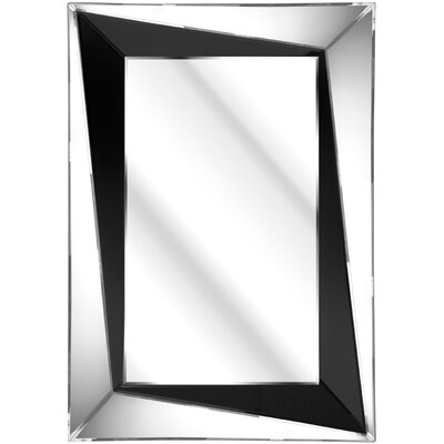 D & J Simons and Sons The Solitaire Bevelled Sloped Mirror