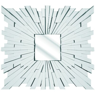 D & J Simons and Sons The Solitaire Square Mirror
