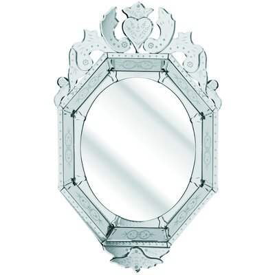 D & J Simons and Sons The Solitaire Octagonal Mirror