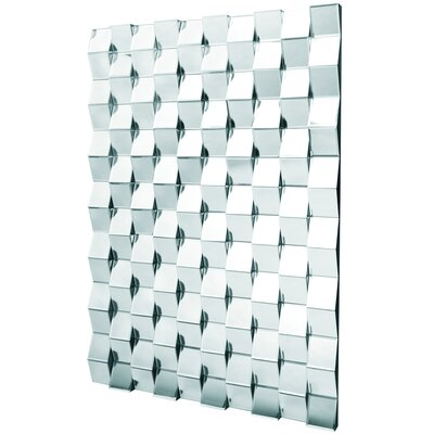 D & J Simons and Sons The Solitaire Brick Mirror