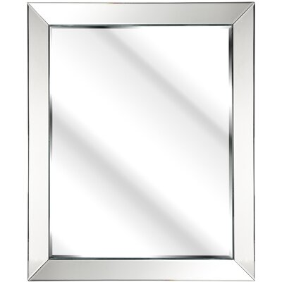 D & J Simons and Sons The Solitaire Mitred Mirror