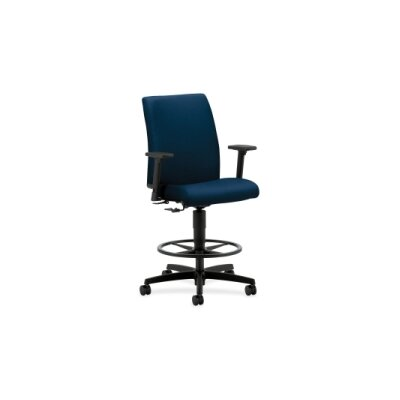 Ignition High-Back Drafting Chair Upholstery: Mariner