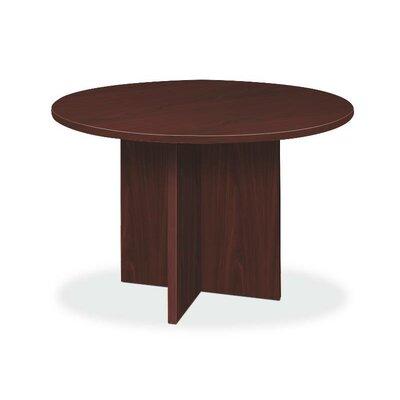 "Circular 29.5""H x 48""W x 48""L Conference Table Finish: Mahogany"